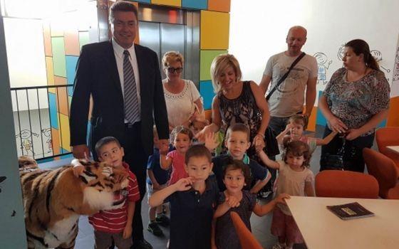 Đemila i Chris Gabriel obradovali djecu iz Dječijeg doma Bjelave