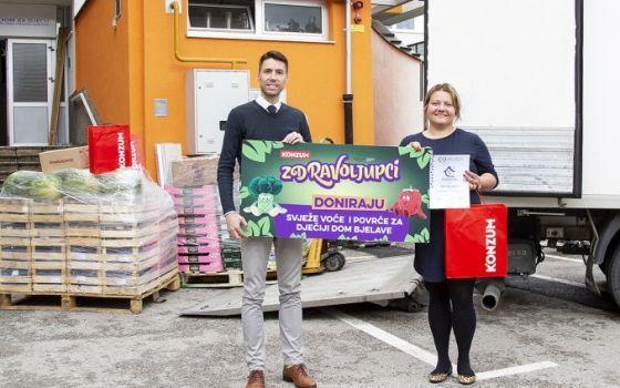 Konzum realizovao donacije za četiri dječija doma u BiH