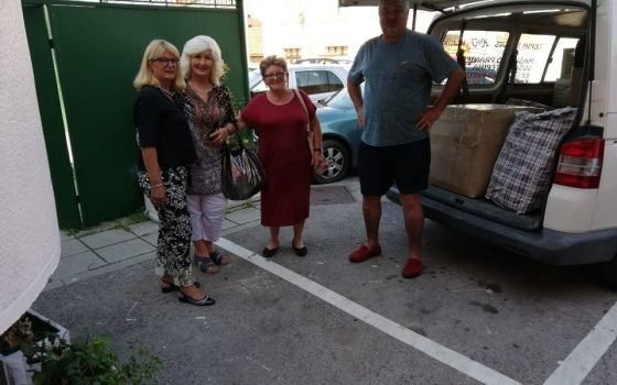Donacija organizacije Australian Bosnian Womans Association Žena Ženi