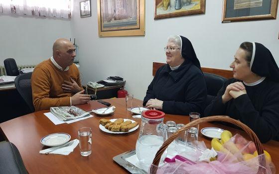 """Posjeta predstavnica Doma """"Egipat"""" Sestre služavke malog Isusa KJU Dom za djecu bez roditeljskog staranja"""
