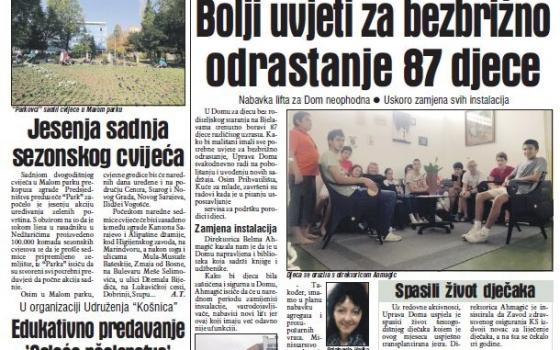 Novi sadržaju u Domu Bjelave - Press Avaz