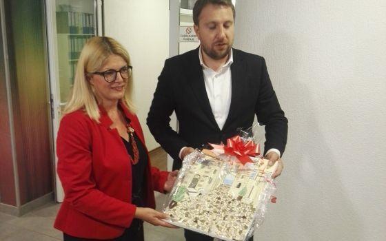 Posjeta gradonačelnika grada Sarajeva Abdulaha Skake našem Domu