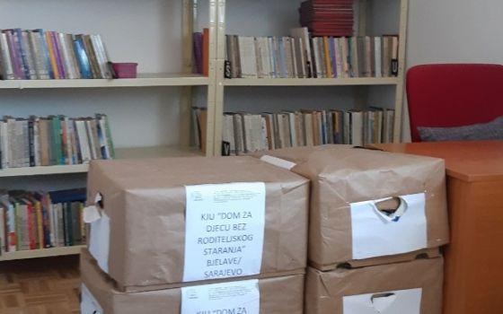 Donacija za biblioteku Doma
