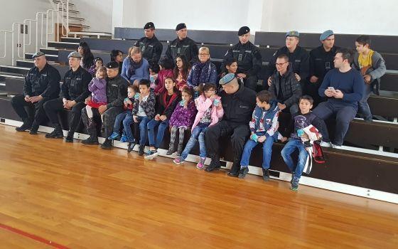 Posjeta grupe djece Sektoru za policijsku podršku