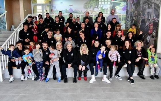 Posjeta igrača i predstavnika FK Sarajevo