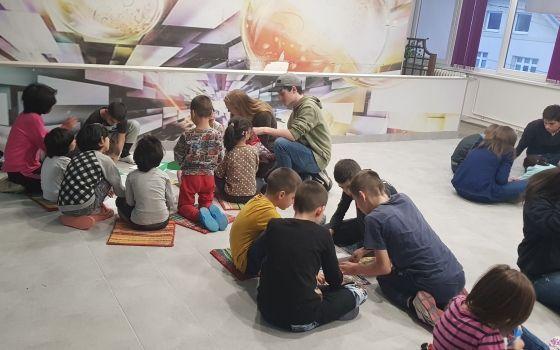 Posjeta i druženje učenika Međunarodne škole QSI sa djecom Doma