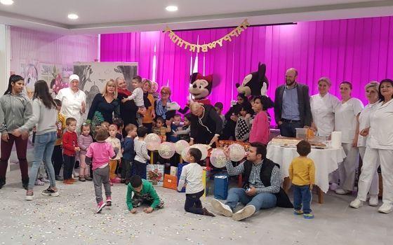 Proslava rođendana djeci Doma