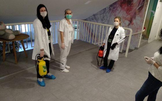 Izvršena preventivna dezinfekcija,dezinsekcija i deratizacija Doma za djecu i Kuće za mlade na Blagovcu