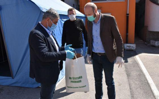 Zaštitna oprema i sredstva za dezinfekciju za Dom Bjelave