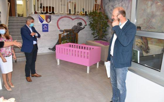Općina Centar donirala krevete za štićenike Dječijeg doma na Bjelavama