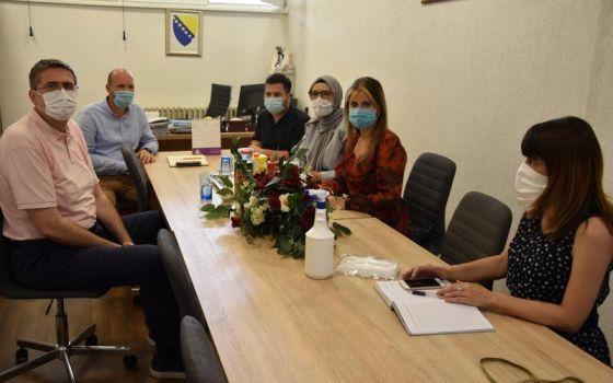 Ministri Vlade Kantona Sarajevo u posjeti Domu za djecu